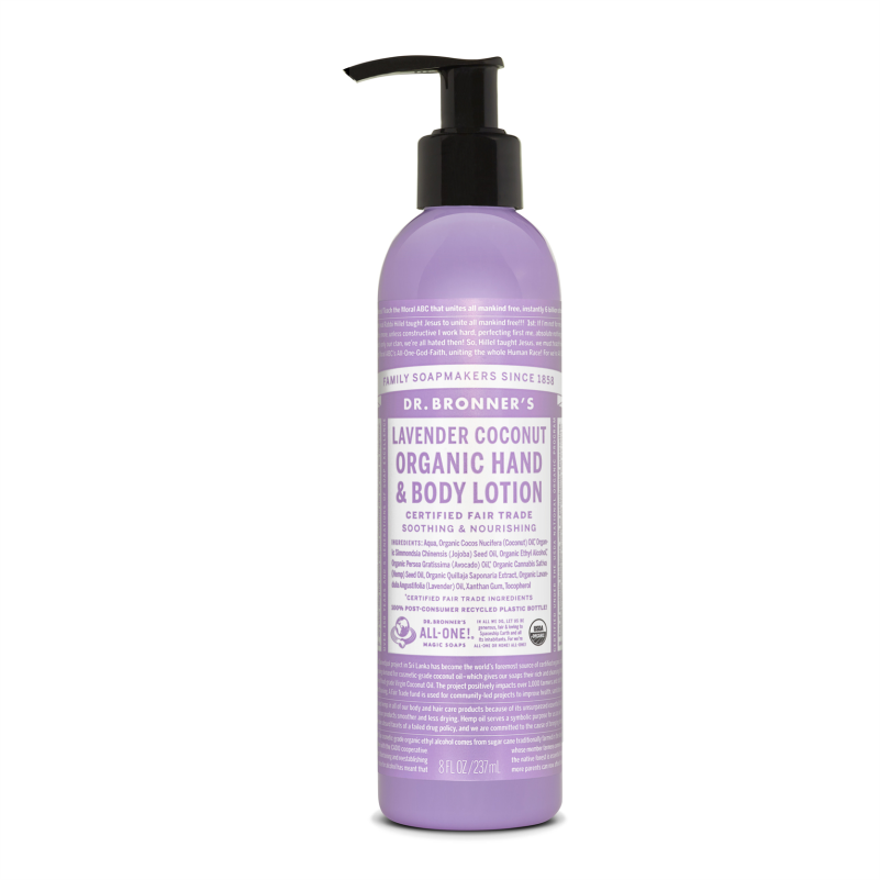 Dr. Bronners Lavender Coconut Body Lotion 237 ml