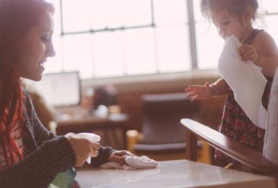 Kodu puhastamine koos lastega