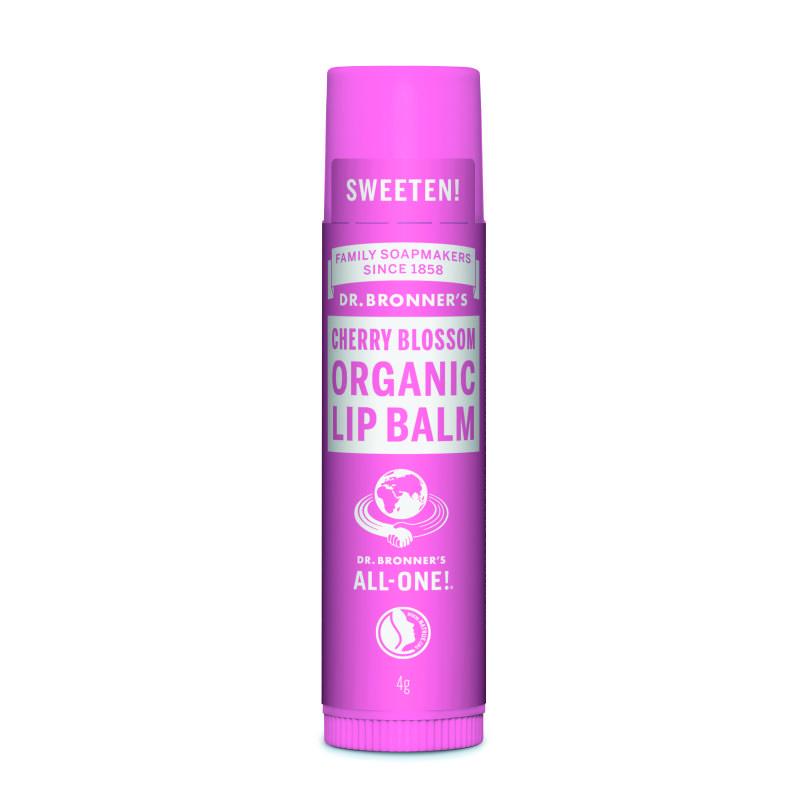 Kirsiõiearoomiga orgaaniline huulepalsam